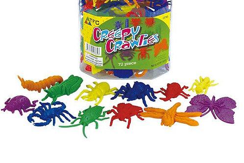 Counters Creepy Crawlies 72 Pieces