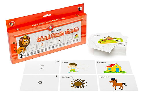 Giant Sight Words Flashcards