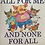 Thumbnail: All For Me And None For All Level 23 (Springboard Connect) Larger Book
