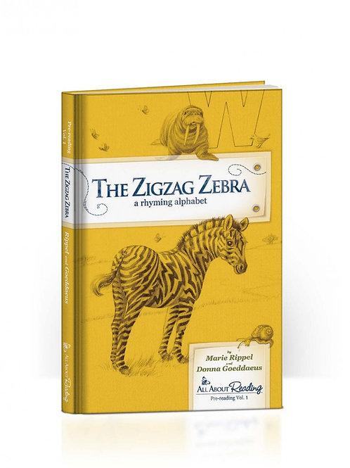 The ZigZag Zerbra Read-Aloud Book