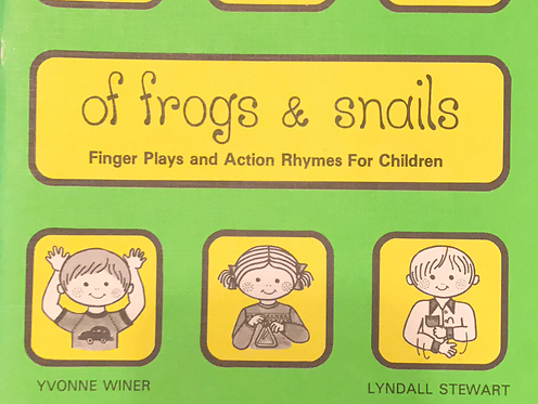 Vintage: Of Frogs & Snail by Yvonne Winer/Lyndall Stewart
