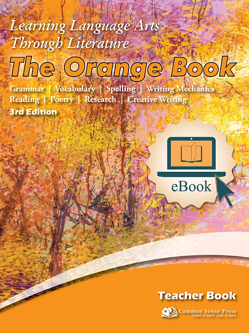 eBook LLATL 3rd Ed: Orange 4th Grade Teacher Book Manual