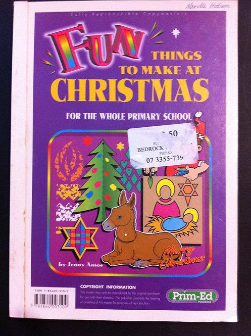 Prim-Ed: Fun Things to Make at Christmas BLM'S