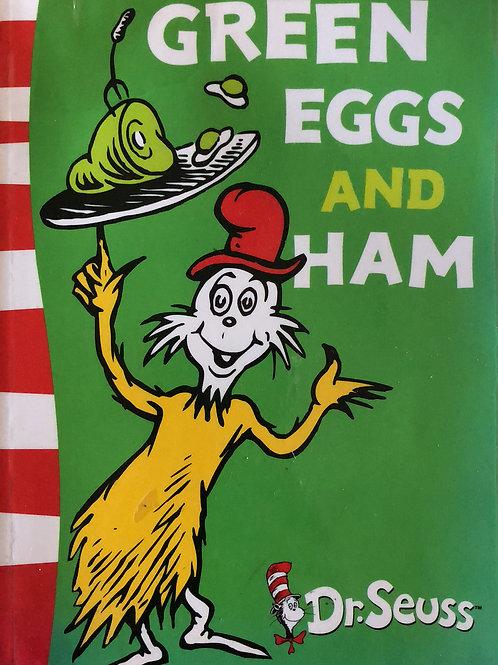Dr. Seuss Green Egg and Ham