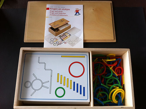 Educo Ring & Sticks in Wooden Box