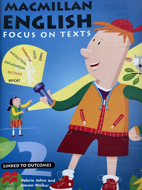English Focus on Text Student Book 2 (Macmillan)