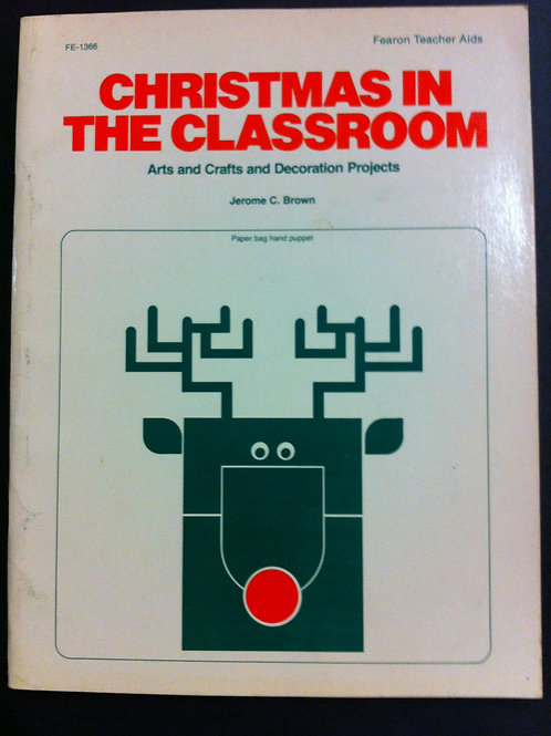 Christmas in The Classroom (Arts & Crafts) $8.00