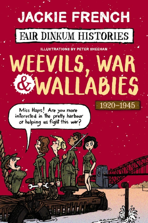 Weevils War & Wallabies by Jackie French