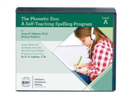 Phonetic Zoo Spelling Level A (Audio Only)