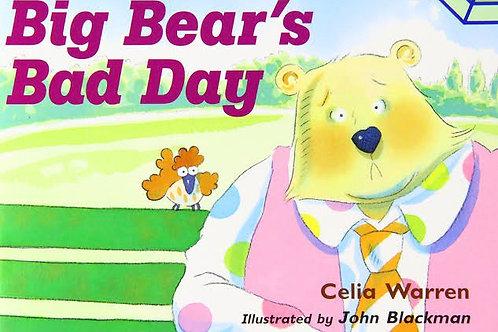 Big Bear's Bad Day Level 7 (MacMillan Take Home)