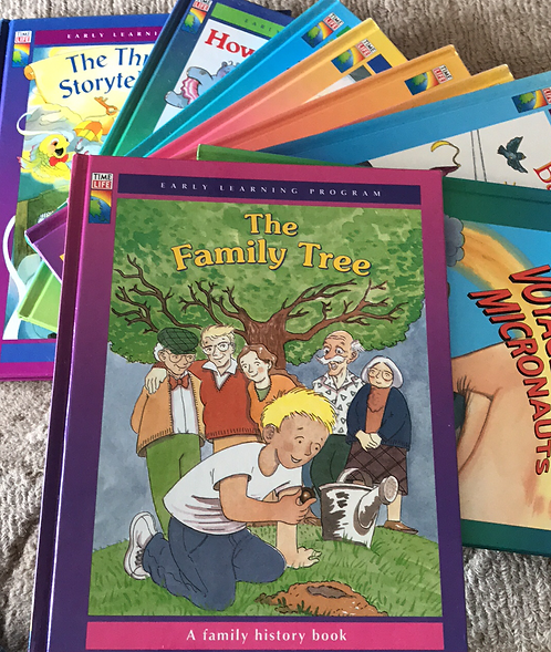 Time Life: Early Readers (hardcopy) x 9 Books
