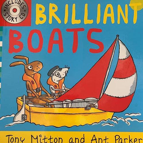 Brilliant Boats No CD by Tony Mitton