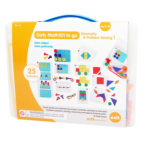 Geometry & Problem Solving Set 3 Ages 5-6