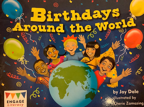 Birthday Around the World Level 8 (Engage Literacy)