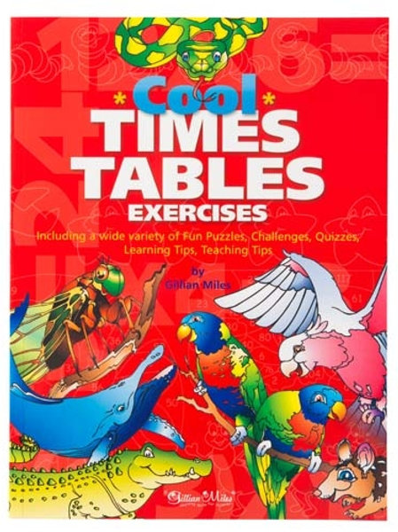 Cool Times Tables Exercises Book by Gillian Miles