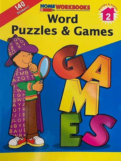 Word Puzzles & Games Book 2