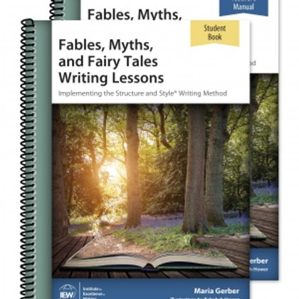 Fables, Myths, and Fairy Tales Writing Lessons (Teacher/Student Combo)