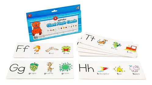 Giant Alphabet Flashcards