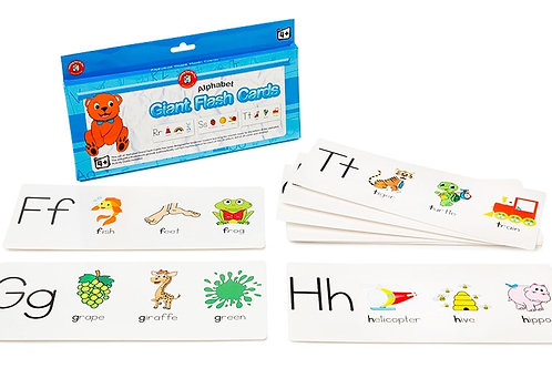 Giant Alphabet Flashcards