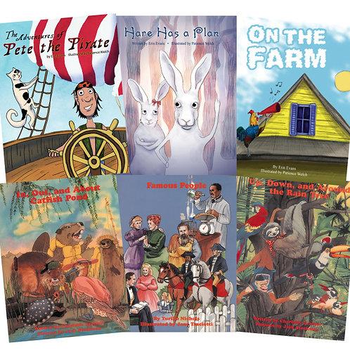 eBook LLTAL: Red Book Readers (Set of Six Readers)