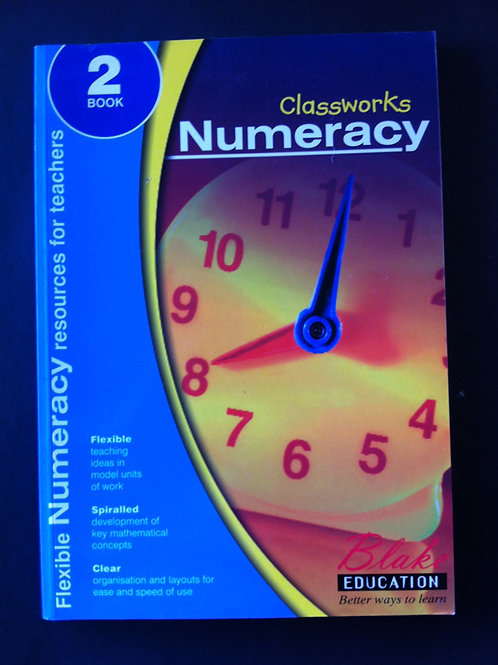 Classworks Numeracy - Book 2 - Lower Primary BLM'S
