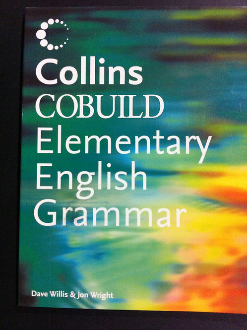 Collins Cobuild Elementary English Grammar  $10.00