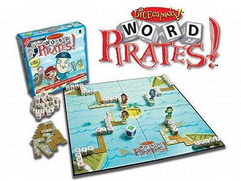 Dicecapades! Word Spelling Pirates Game