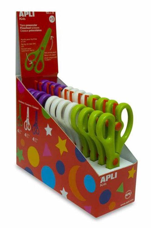 APLI Pre-School Scissors 130mm Ages 3+ each