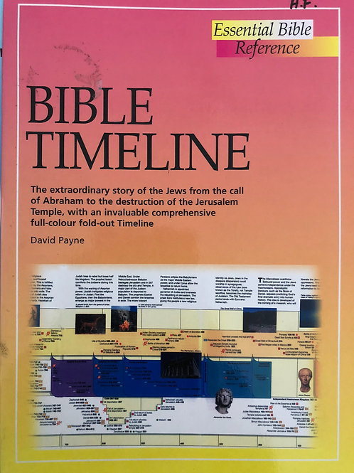 Essential Bible Reference Bible Timeline