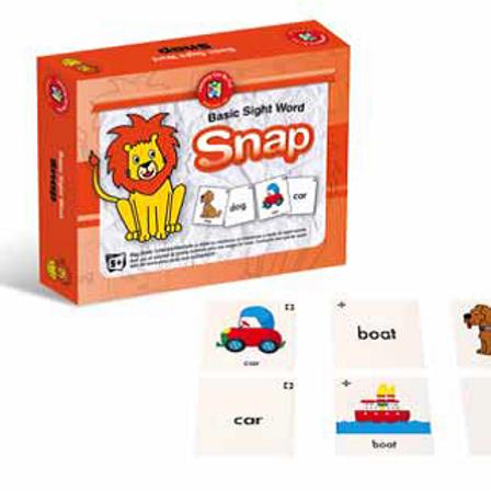 Basic Sight Word Snap (Early Reading Skills)