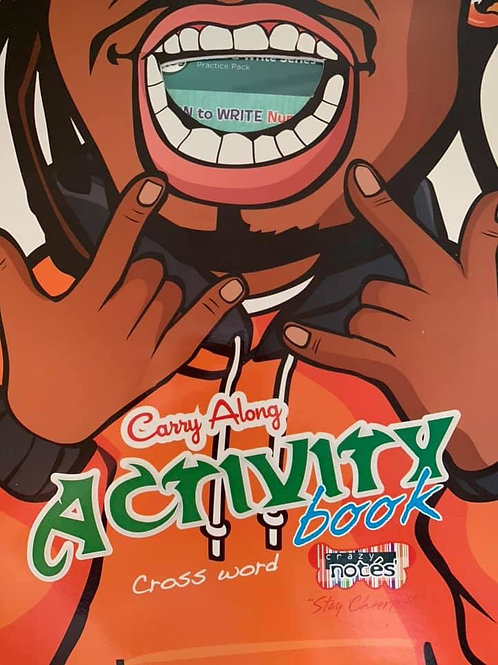 Carry Along Activity Book