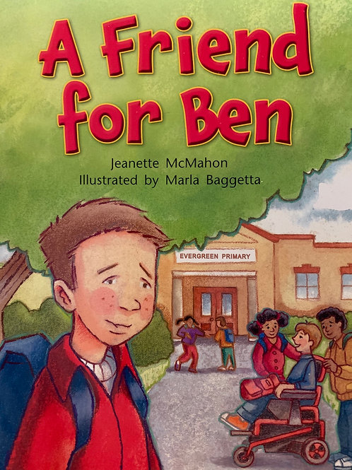 A Friend For Ben Level 23 (MacMillan Beetle Box)