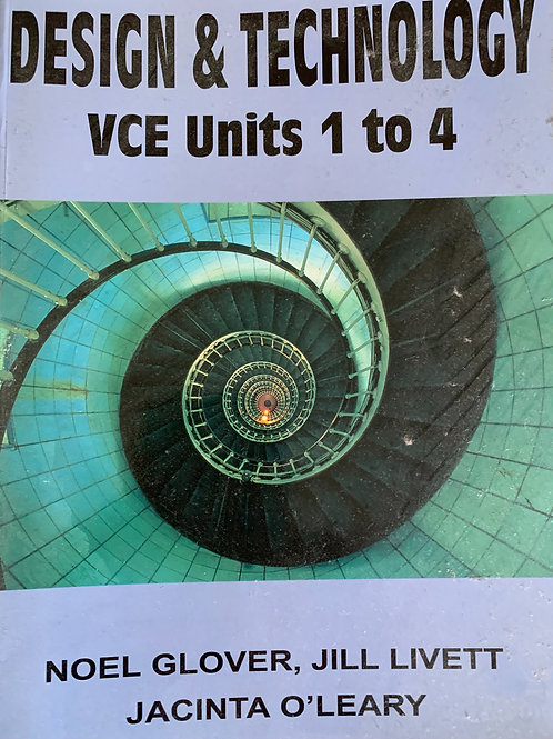Design & Technology VCE United 1 to 4