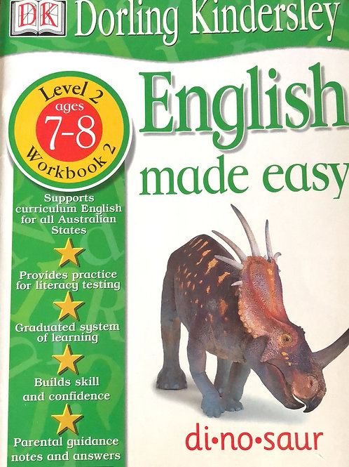 DK English Made Easy Level 2 Ages 7-8 Workbook 2