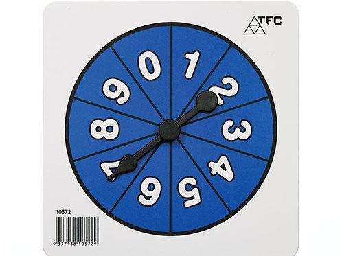Number Spinner 0 - 9 $2.00