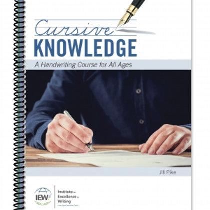 Cursive Knowledge (Student Book)