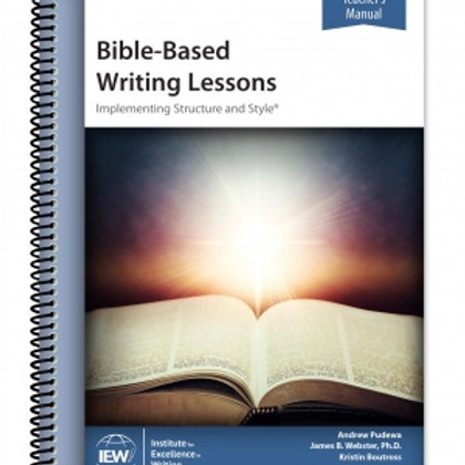 Bible-Based Writing Lessons (Teacher's Manual only)