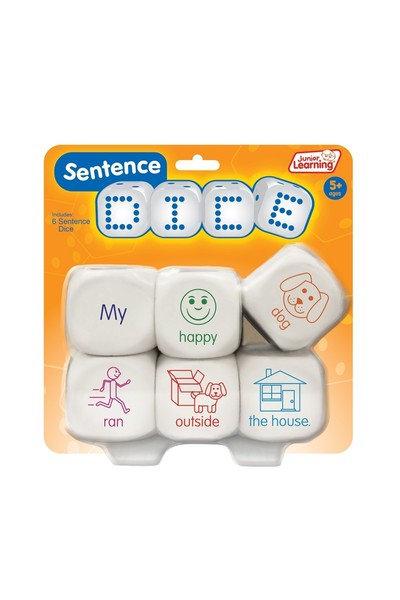 Junior Learning Dice Sentences 6p Large