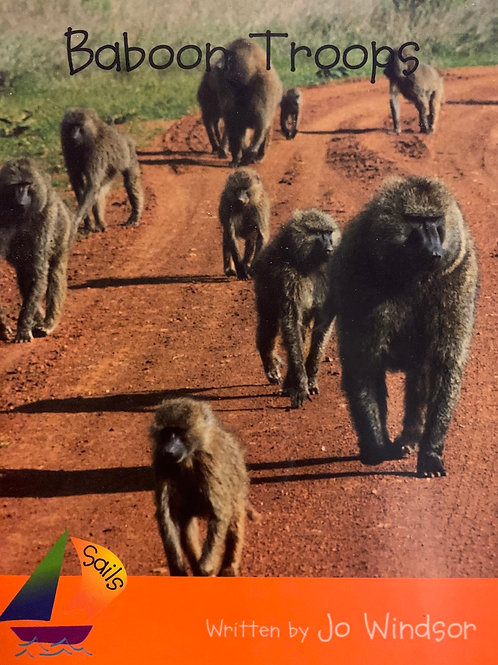 Baboon Troops Level 21 (Heinemann)