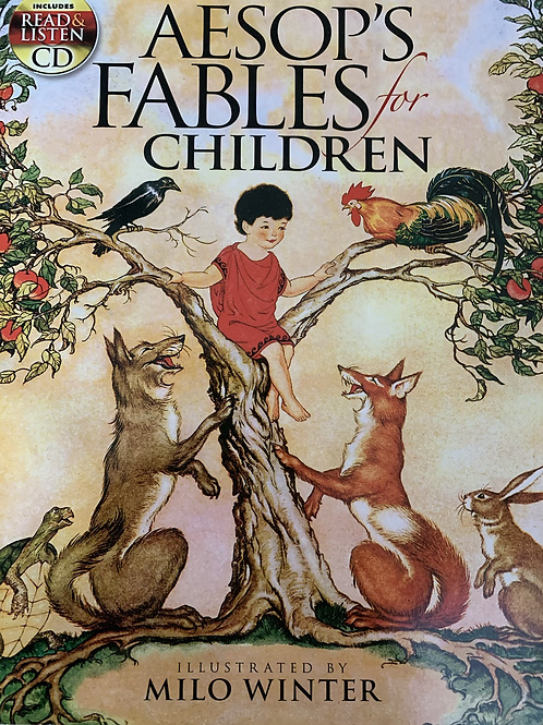 Aesop's Fables For Children (Read and Listen includes CD)