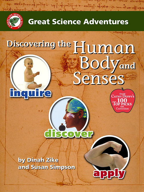 Discovering the Human Body  and Senses - Pre - 7