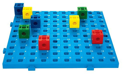2cm Linking Cube Activity Board