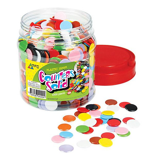 Counters Solid 16mm 100 piece bag