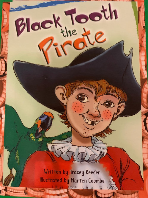 Black Tooth The Pirate Level 12 (MacMillan)