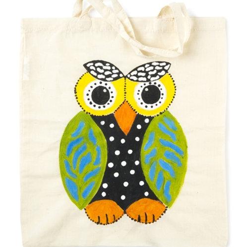 Create-It Shopping Bag Calico 37 x 42cm each