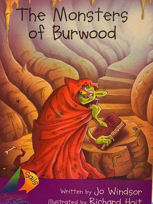 The Monster Of Burwood (Heinemann Sails) Level 26