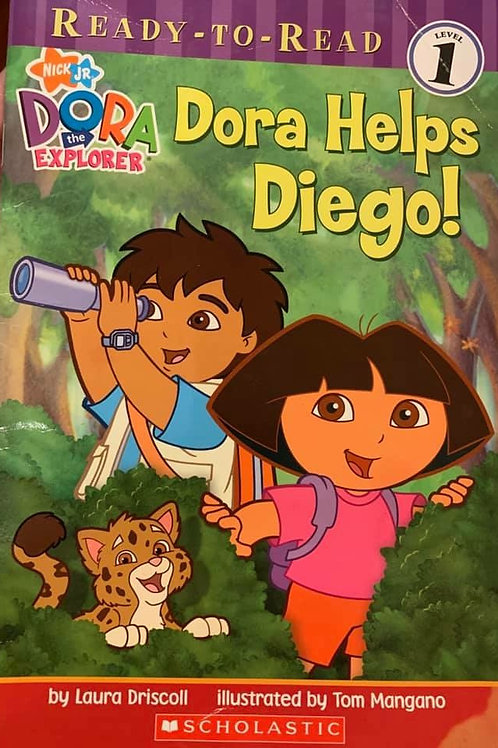 Dora Helps Diego! Level 1