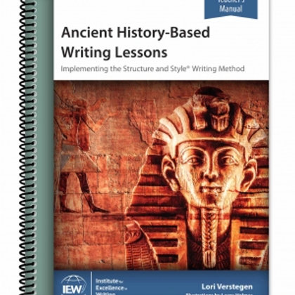 Ancient History-Based Writing Lessons (Teacher Manuel Only)