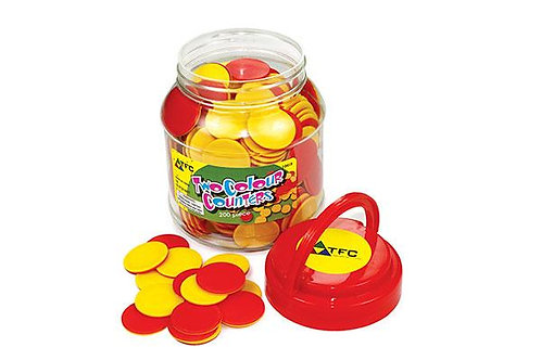 Counters: Two Colour 200p in Pet Jar