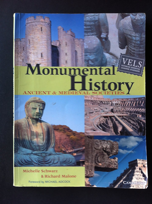 Cambridge: Monumental History Year 11 & 12 $10.00